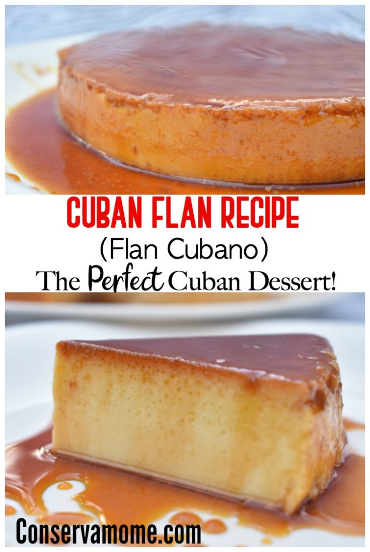 Cuban Flan Recipe (Flan Cubano)