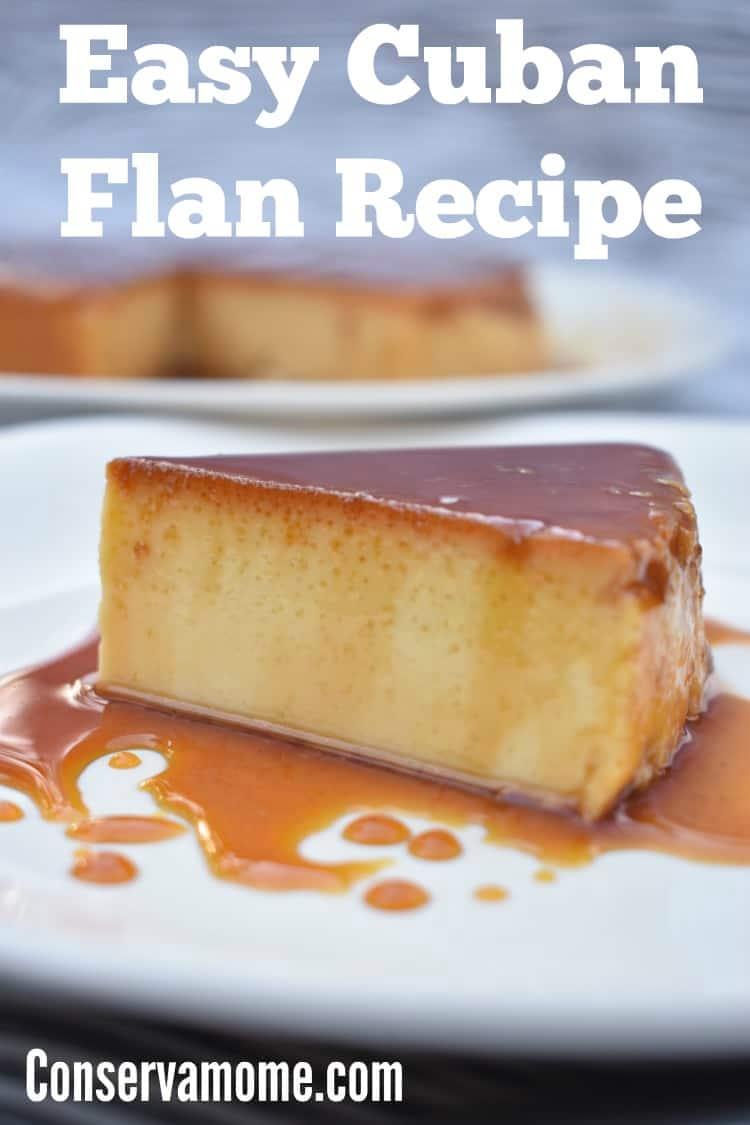 Easy Cuban Flan Recipe