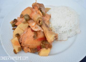 Crockpot Cuban Fricase de Pollo (Cuban Chicken Fricassée)