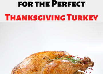 Turkey Thawing Cooking Guidelines for the perfect Thanksgiving Turkey