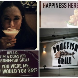 Bonefish Grill, Happiness IS There.