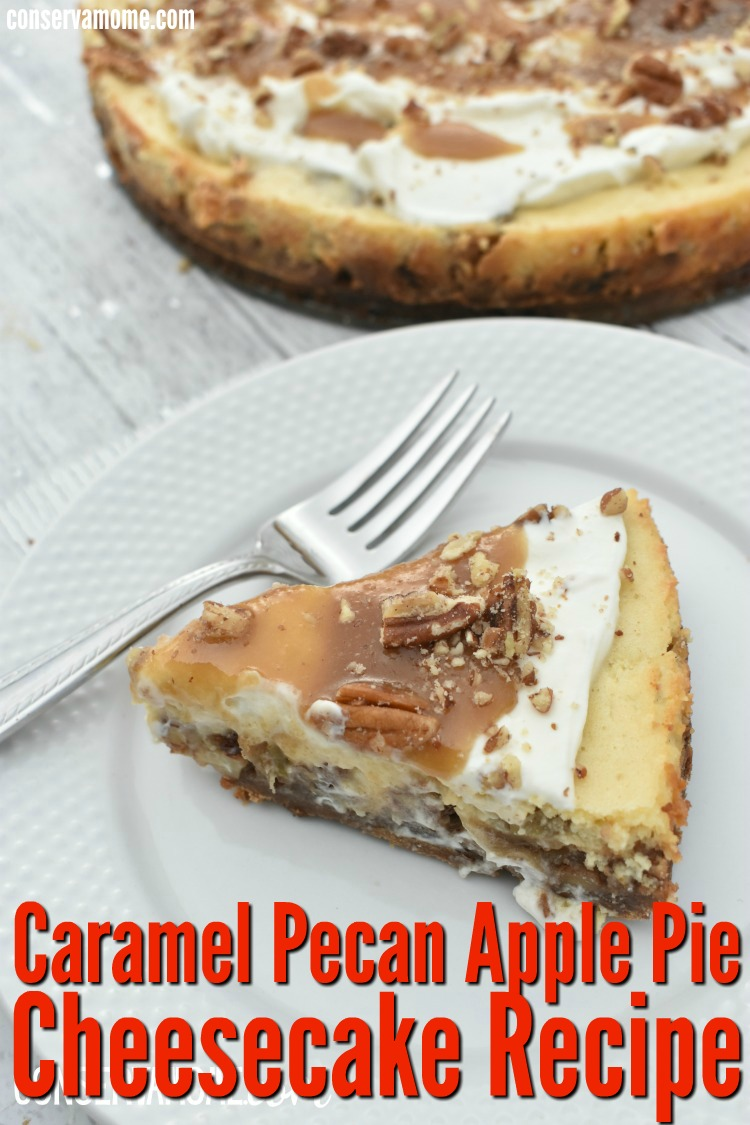 Caramel Pecan apple pie cheesecake recipe