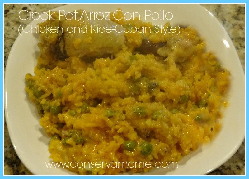 Crock Pot Arroz Con Pollo