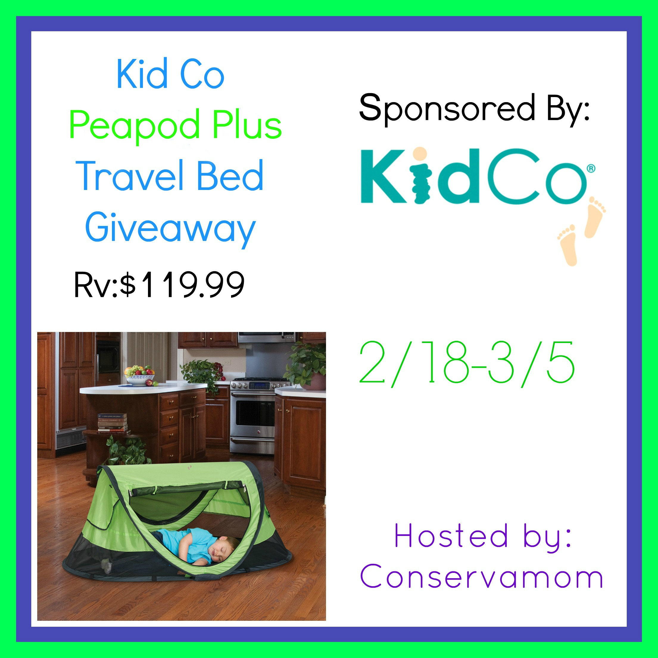 Win This Peapod Plus Travel Bed Ends 3 5