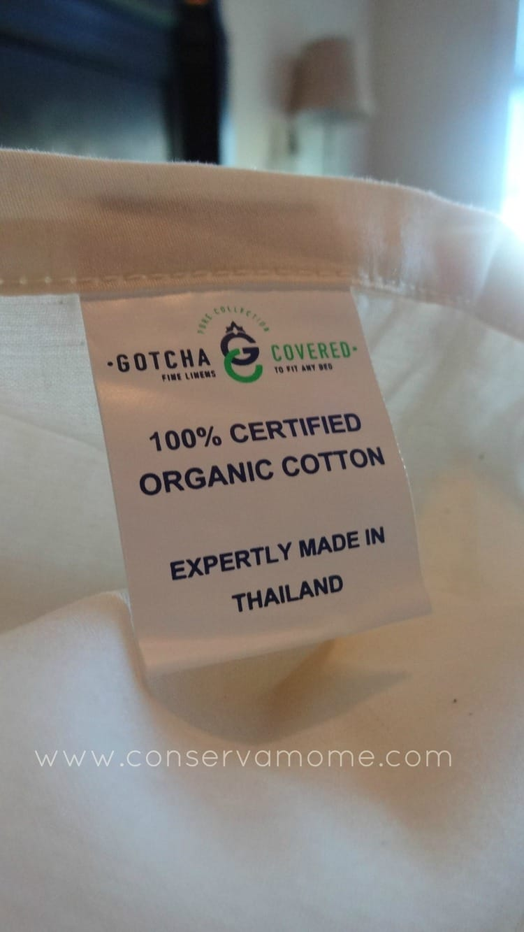 Gotcha Covered Organic Sheet Set Giveaway