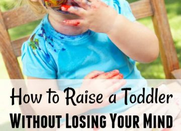 How to raise a toddler