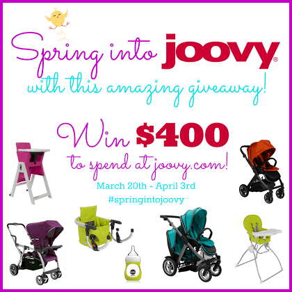 Joovy Zoom 360 jogging stroller Review & amp; GIVEAWAY !! $ 270 RV- Home Grown Families