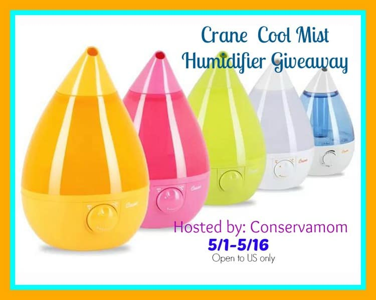 to offer readers a chance to win a Crane Cool Mist Humidifier #C98502