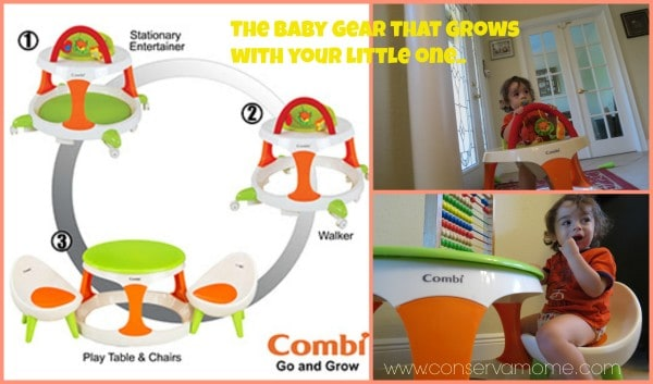 Combi: Go & Grow; The Baby Item That Grows With Your Little One