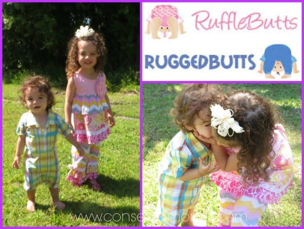 Enchanted Chic & Rugged Good Looks with Ruffle Butts & Rugged Butts Kid's Clothing