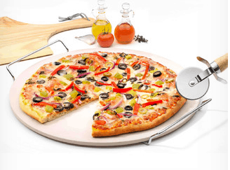 Pizza-stone Win a Complete Pizza Making Kit - Cool Family Activity