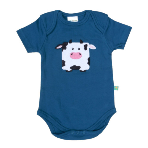Cow Onesie Teal (app)