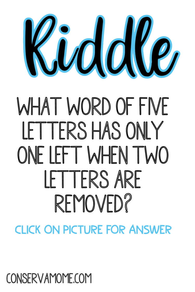 Hard riddles with simple answers