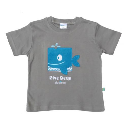 Whale Tee Grey (app)