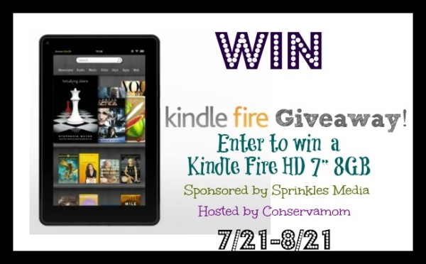 kindle e1405825788480 Kindle Fire HD Giveaway!
