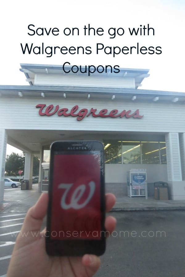 Walgreens coupons paperless