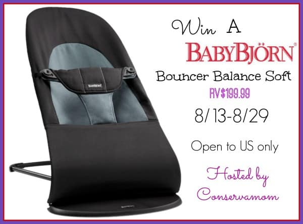 Baby Bjorn Bouncer Balance Soft Giveaway Ends 8 29