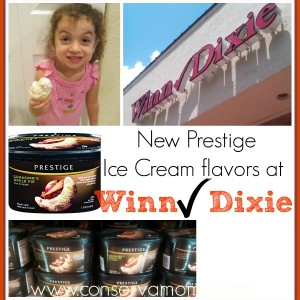 New Prestige Ice Cream Flavors Only at Winn-Dixie