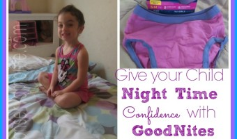 Give Your Little One Night time Confidence With GoodNites* TRU-FIT* Real Underwear
