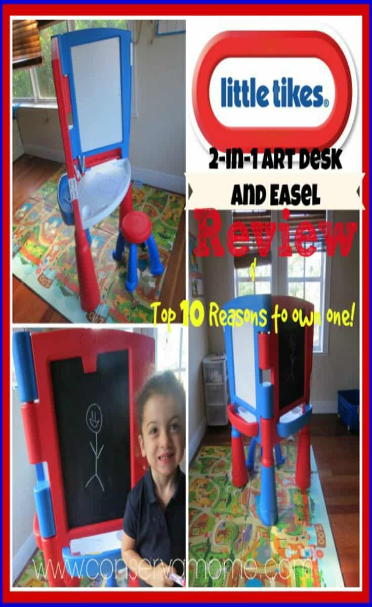 Top 10 Reasons to Own a Little Tikes 2-in-1 Art Desk & Easel ...
