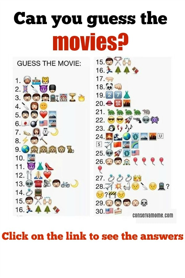 can you guess the movies