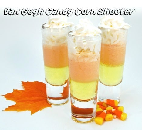 Van Gough Vodka Candy Corn Shooters