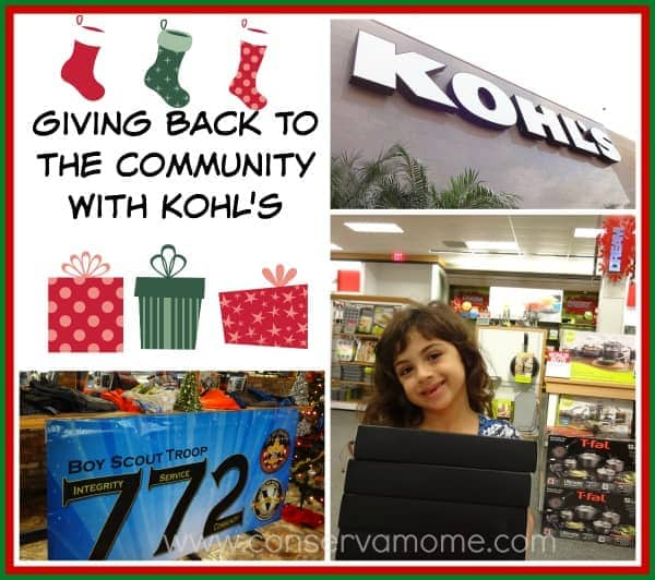 Giving Back To the Community with Kohl's