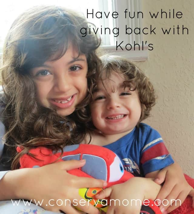 Kohl's Cares by Giving Back In A BIG Way!