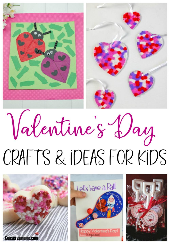 Kids Valentines day craft ideas