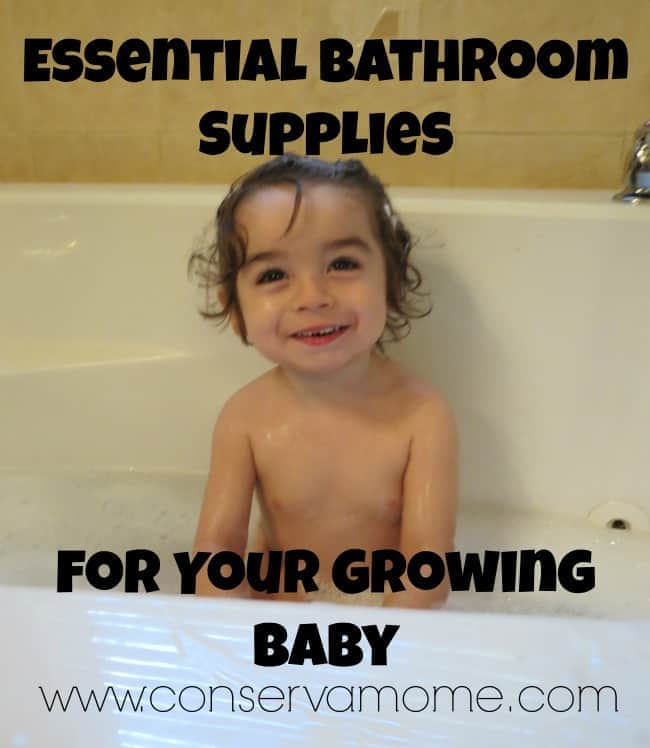 Essential Bathroom Supplies for Your Growing Baby