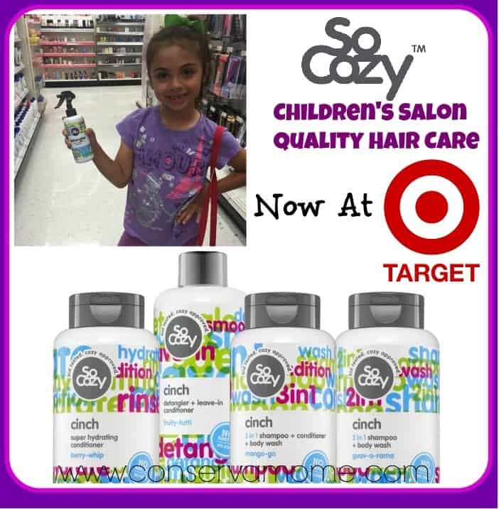 SoCozy Children's Salon Quality Products Now At Target