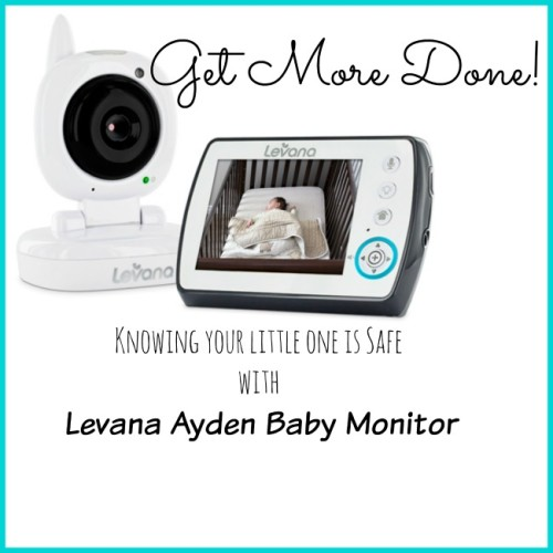6d284de75fbd Thankfully with the Levana Ayden Baby Video Monitor I can! Levana is a a  brand of high-tech