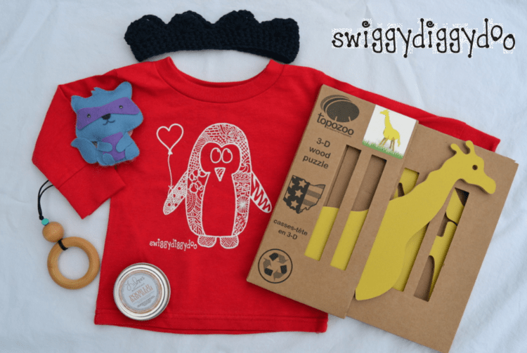 Swiggydiggydoo Subscripiton Box Giveaway ends 5/6