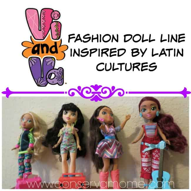 Vi & VA Latin Inspired Fashion Dolls Giveaway ends 5/7