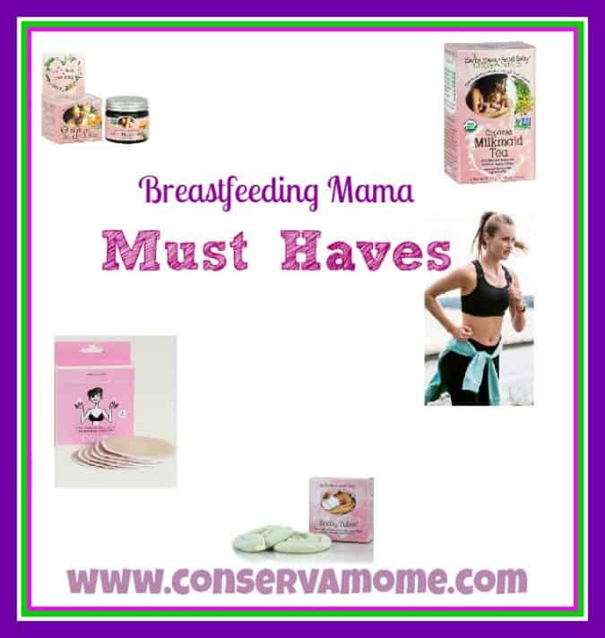 Breastfeeding Mama Must Haves!