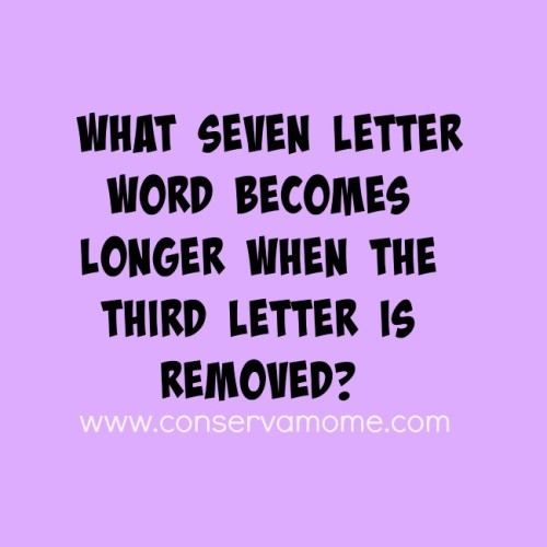 What Seven Letter Word Becomes Longer
