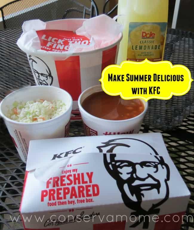 KFC Summer Meal is Finger Licking Good (Para Chuparse los dedos)