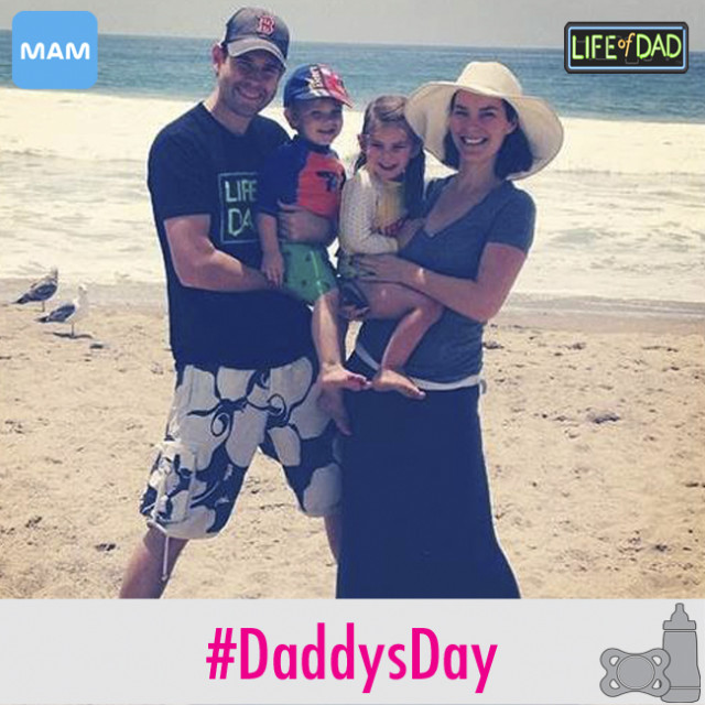 Life of Dad - Family Pic On Beach