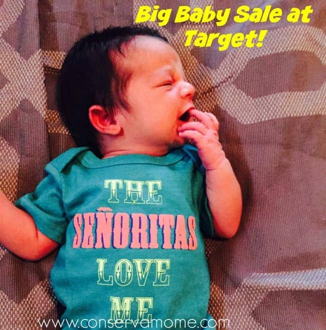 Big Baby Sale At Target This Week!