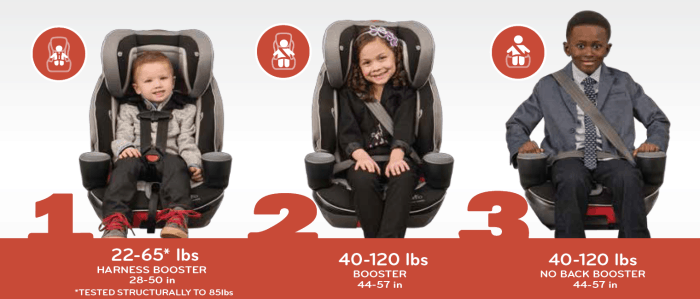 Evenflo Platinum Evolve 3-in-1 Combination Seat