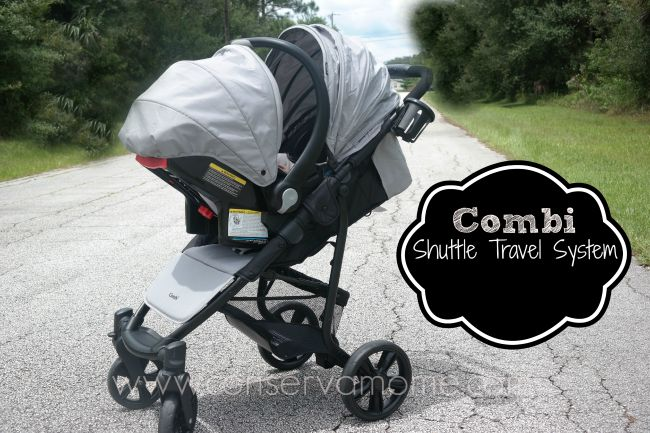 Combi Shuttle Travel System Review & Giveaway ends 9/15 - ConservaMom