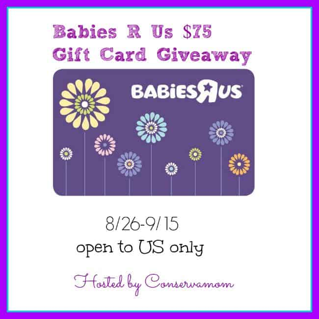 Win A 75 Babies R Us Gift Card And A Pack Of Pampers
