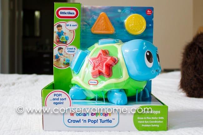 Little Tikes Lil\' Ocean Explorers Crawl \'n Pop! Turtle Review ...