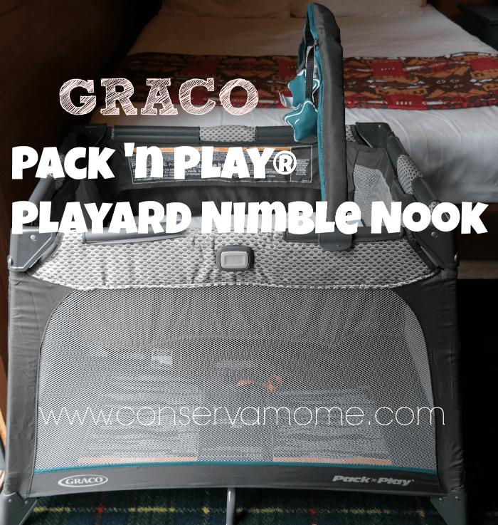 Conservamom Graco Pack N Play 174 Playard Nimble Nook