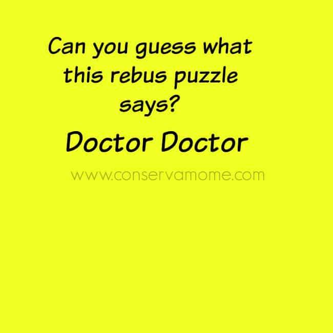 Rebus puzzle Doctor 2