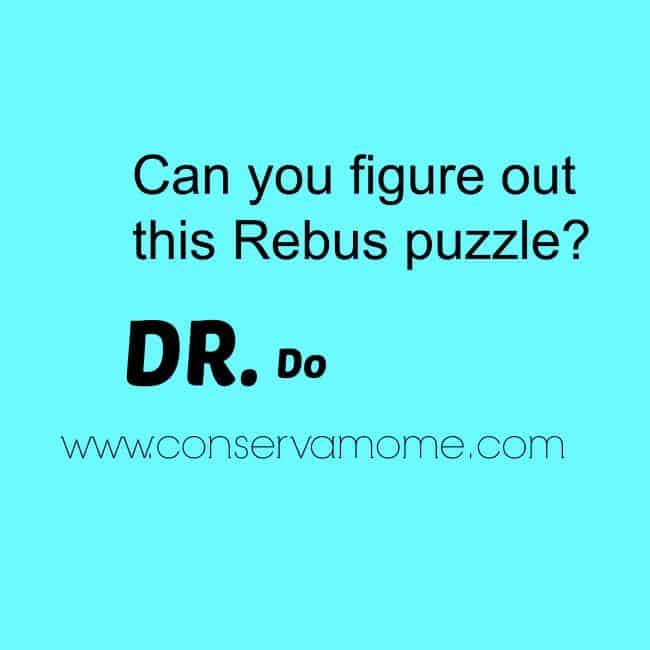 Rebus puzzle DR