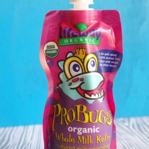 Probiotic Fun with Lifeway Organic ProBugs Kefir