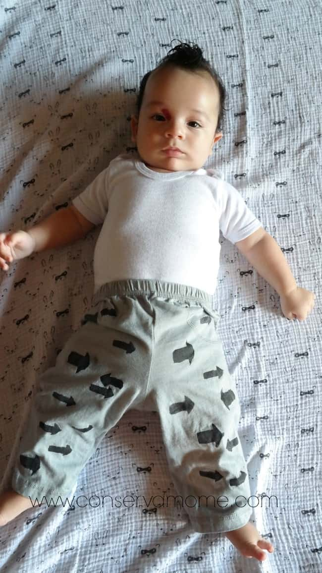 Hand Painted Baby Pants Tutorial DIY