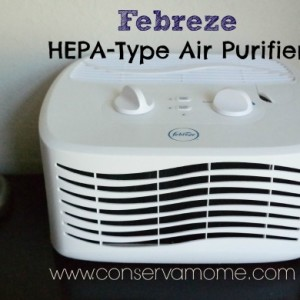 Febreze Hepa-Type Air Purifier Review & Giveaway ends 11/2
