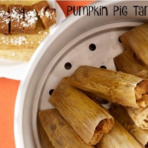 Pumpkin Pie Tamales